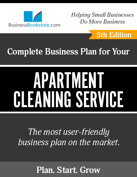 The Business Plan for Your Apartment Cleaning Service eBook
