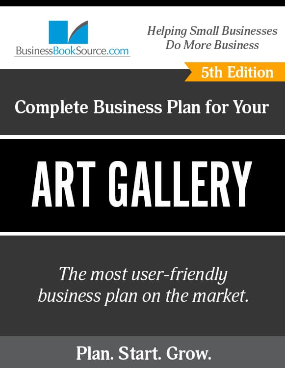 The Business Plan for Your Art Gallery