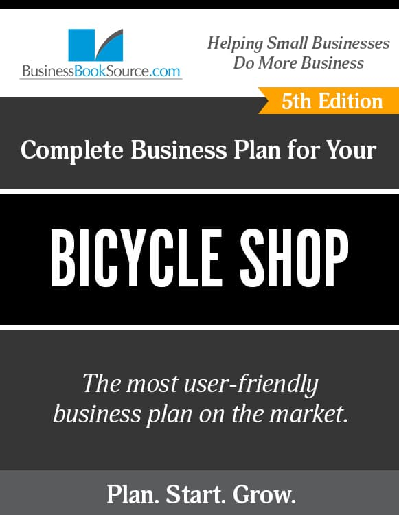 The Business Plan for Your Bicycle Shop