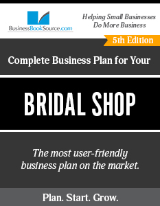 Business Plan for Your Bridal Shop