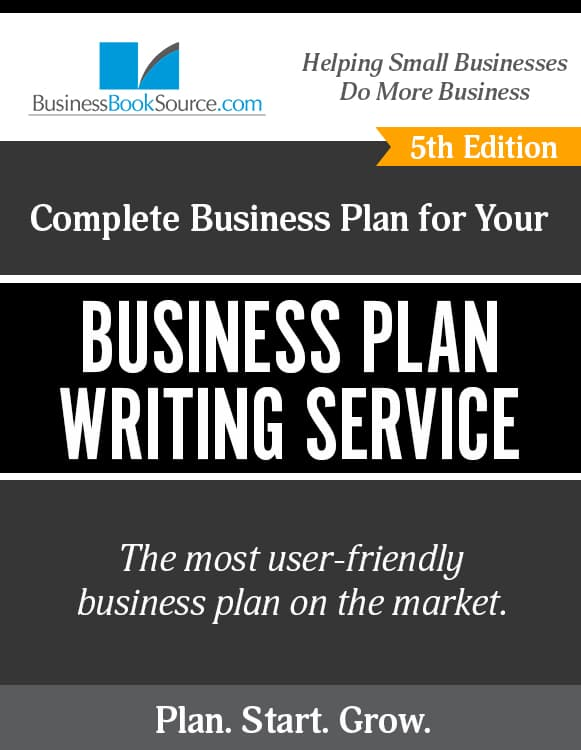 The Business Plan for Your Business Plan Writing Service
