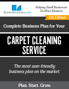 The Business Plan for Your Carpet Cleaning Service