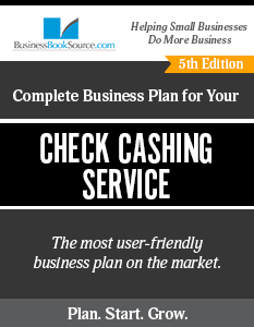 Check Cashing Service Business Plan