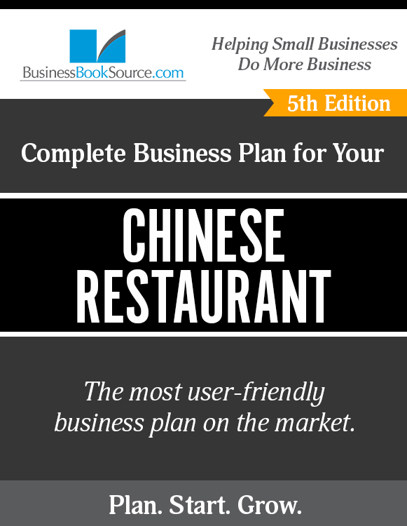 The Business Plan for Your Chinese Restaurant