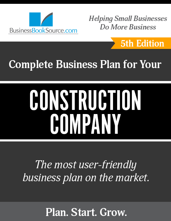 business plan for a construction company
