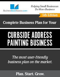 The Business Plan for Your Curbside Address Painting Business