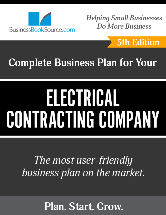 how to write a business plan for a electrical contracting company