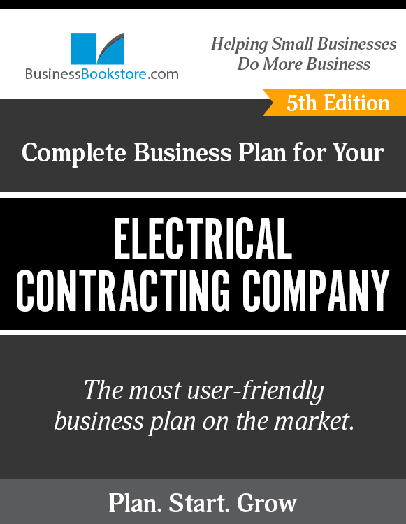 The Business Plan for Your Electrical Contracting Company eBook