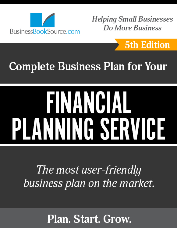 how to write a business plan for a financial planning service