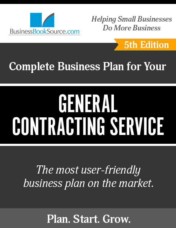 The Business Plan for Your General Contracting Service