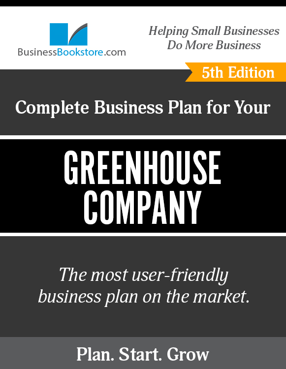 The Business Plan for Your Greenhouse Company eBook