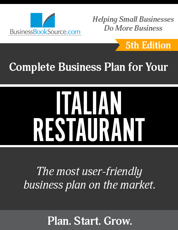 The Business Plan for Your Italian Restaurant