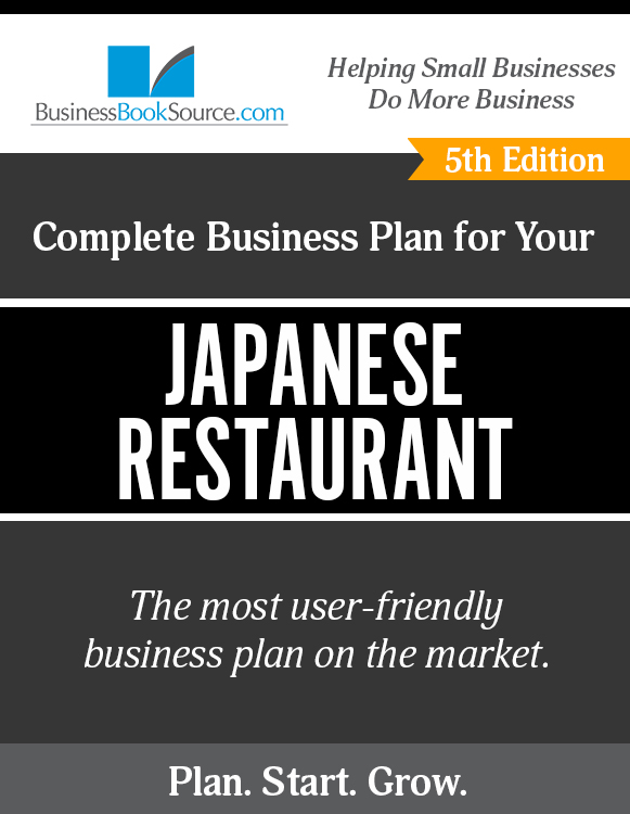 The Business Plan for Your Japanese Restaurant eBook