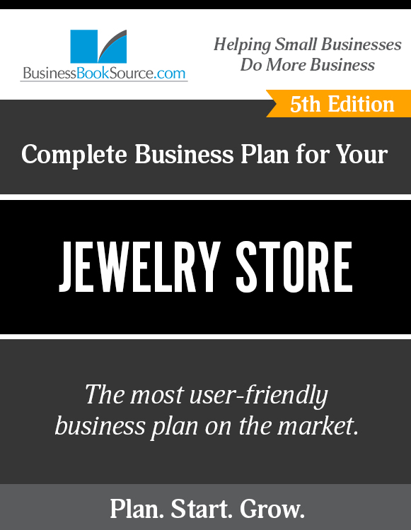 The Business Plan for Your Jewelry Store eBook