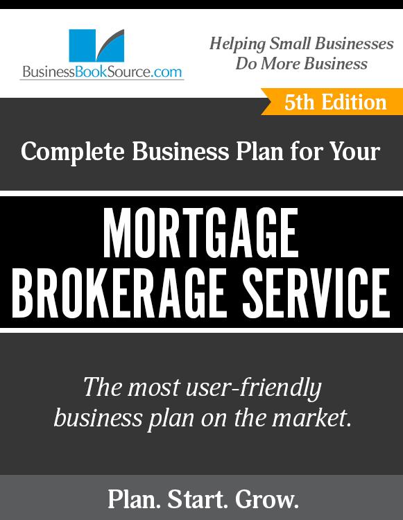 mortgage broker business plan