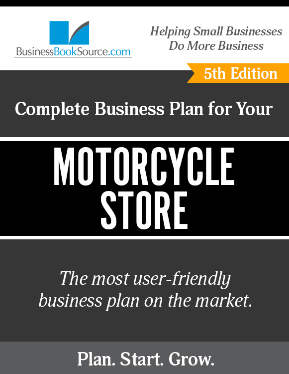 The Business Plan for Your Motorcycle Store