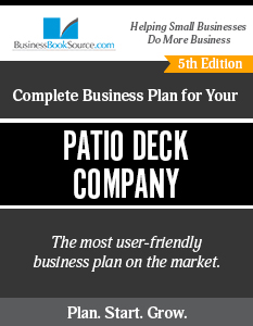 Patio Deck Company Business Plan