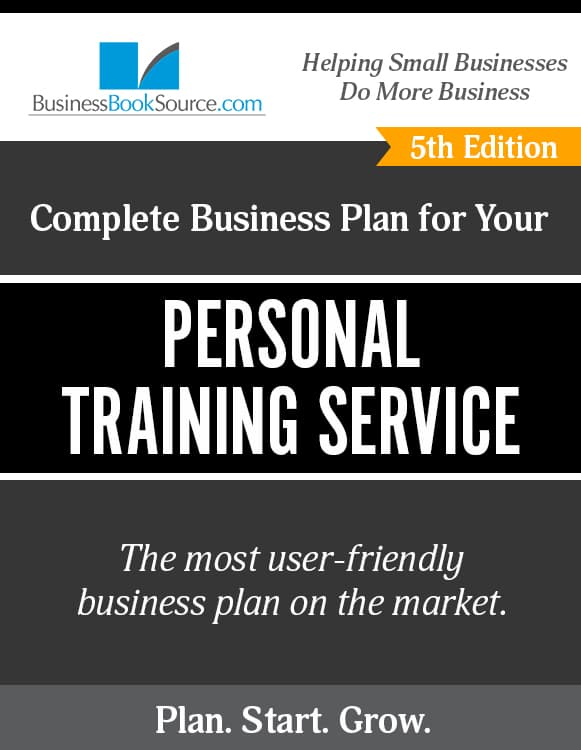 The Business Plan for Your Personal Trainer Service eBook