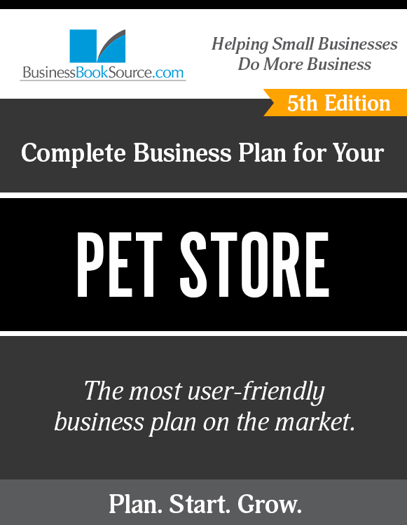pet shop business plan ppt