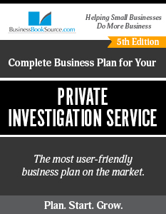 Private Investigation Service Business Plan