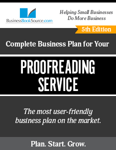 Proofreading Service Business Plan