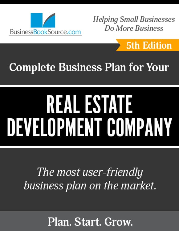 The Business Plan for Your Real Estate Development Company