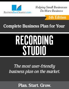 Recording Studio Business Plan