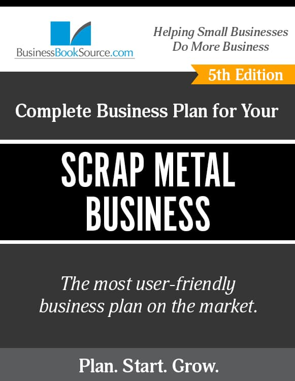 The Business Plan for Your Scrap Metal Business