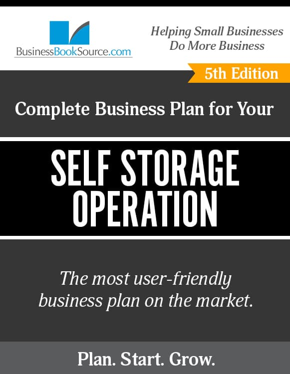 The Business Plan for Your Self Storage Operation eBook