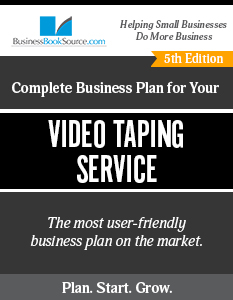 Video Taping Service Business Plan