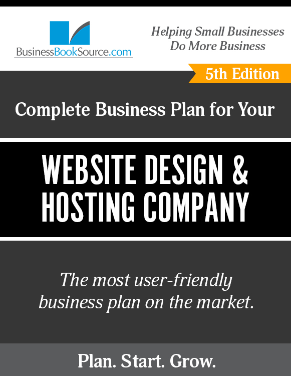 The Business Plan for Your Website Design and Hosting Company
