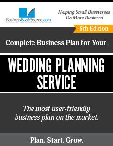 Wedding Planning Service Business Plan