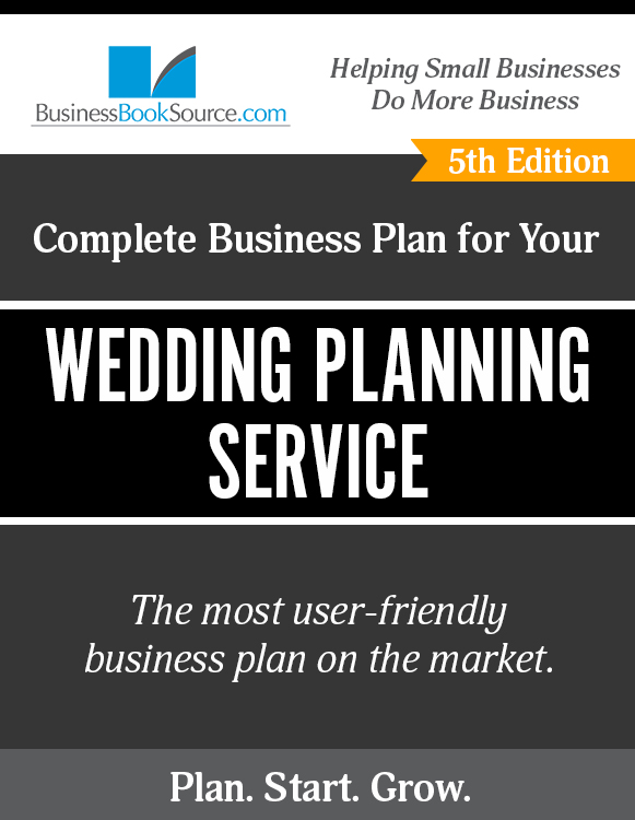The Business Plan for Your Wedding Planning Service