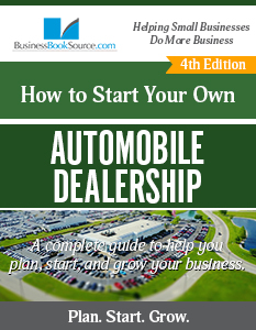 Start Your Own Automobile Dealership