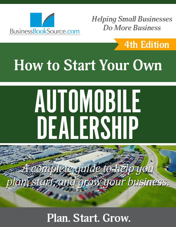 Start Your Own Automobile Dealership!