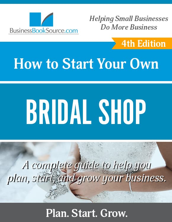 Start Your Own Bridal Shop!