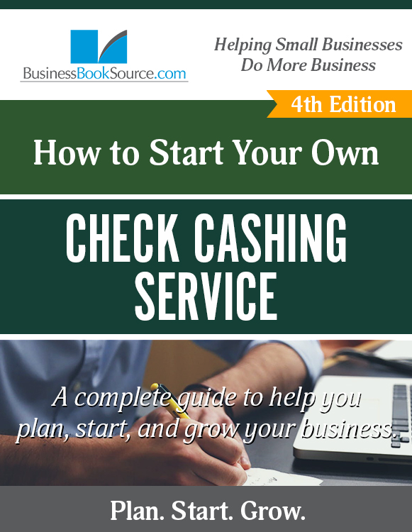 Start Your Own Check Cashing Service!