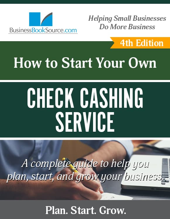 Start Your Own Check Cashing Service! eBook