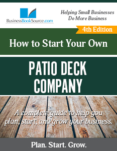 Start Your Own Patio Deck Company