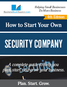 Start Your Own Security Company
