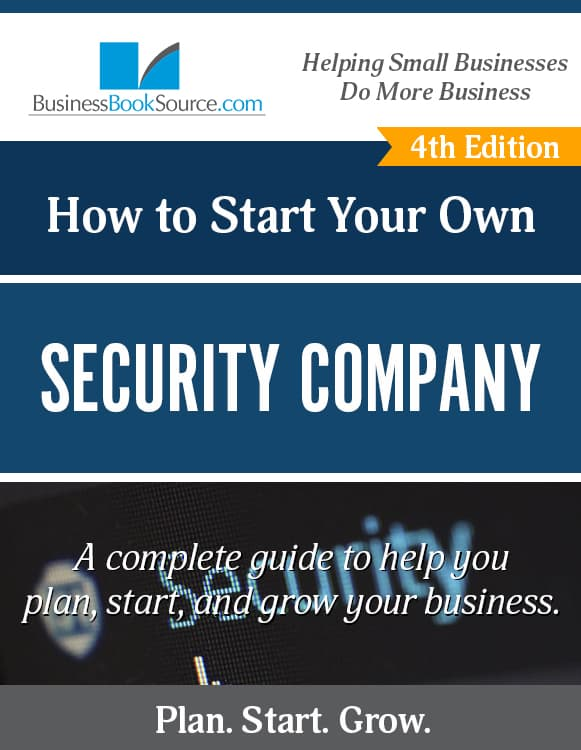 Start Your Own Security Company!