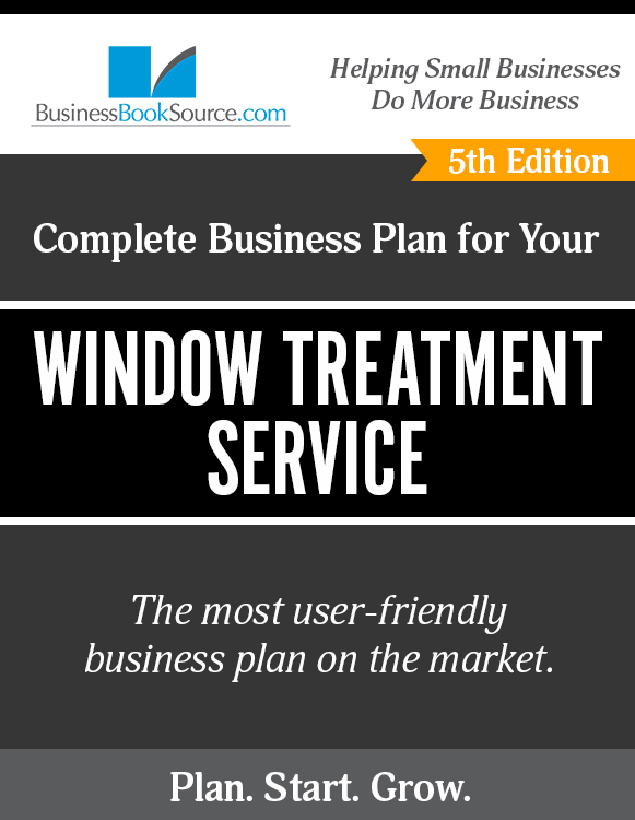 The Business Plan for Your Window Treatment Service