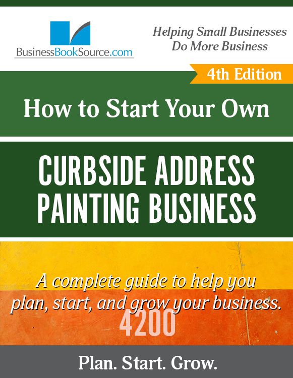 Start Your Own Curbside Address Painting Business