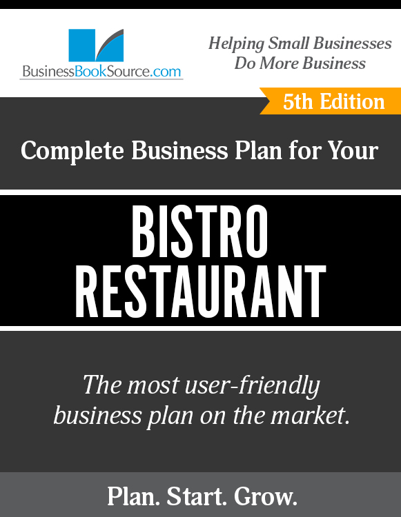 Business Plan for Your Bistro Restaurant
