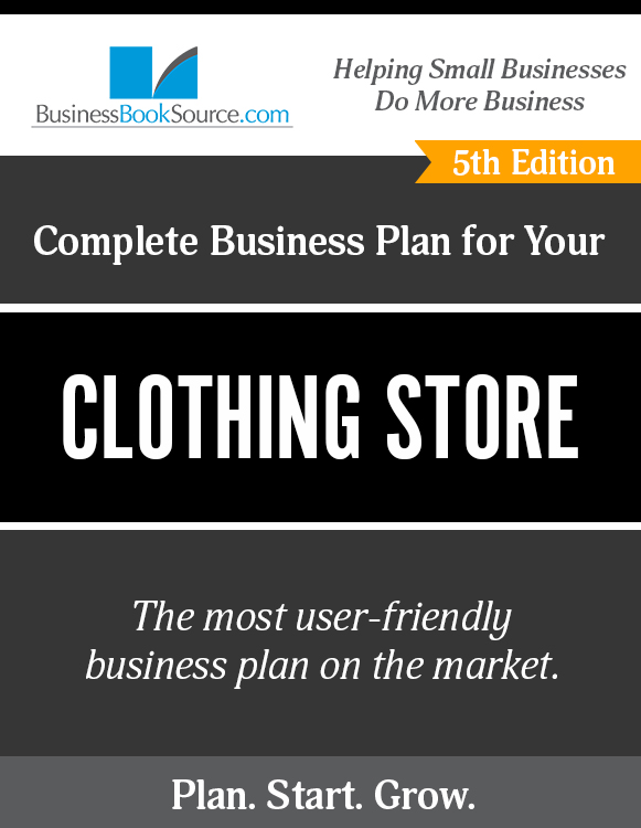 Clothing Store Business Plan Samples CONSIDERDISAGREEDML - Clothing business plan template