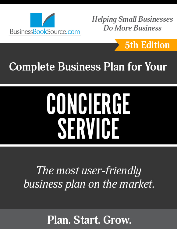 The Business Plan for Your Concierge Service