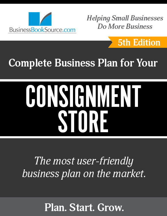 Business Plan for Your Consignment Store
