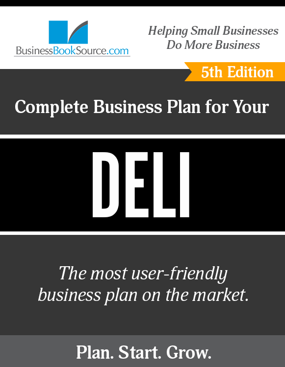 Business Plan for Your Deli