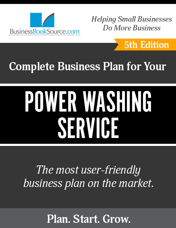 Power Washing Service Business Plan